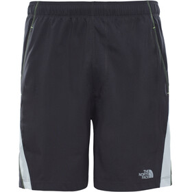 The North Face M's Reactor Shorts Asphalt Grey/Dayglo Yellow